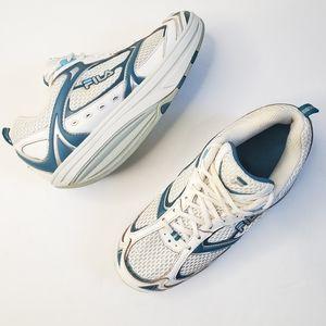 Fila Walk N Sculpt Shape Up Tennis Shoes S26